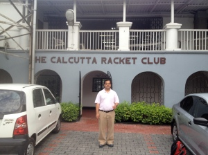 Visit to Calcutta Racket Club