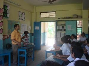 Q&A with Maria Public School Students in Guwahati, Assam.