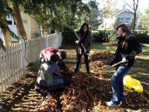 Concord Academy Students in Action in Concord, MA
