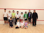 Beginner junior squash players make progress at Kidsquash.