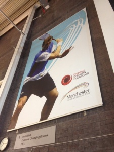 National Squash Center in the United Kingdom.