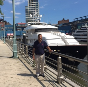 Visit to Chelsea Piers, New York, summer 2016. Photo credit: unknown.
